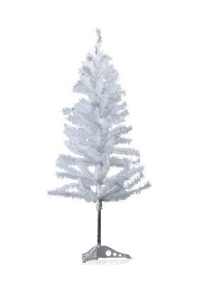 TveT Yılbaşı Beyaz Çam Ağacı 150 cm