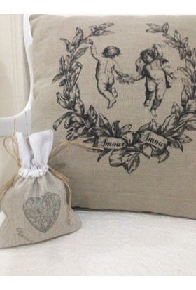 Victorian Rose Boutique Amour Country Yastık