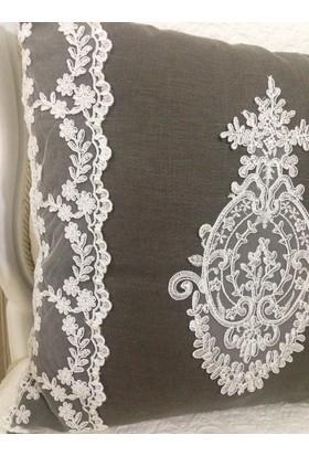 Victorian Rose Boutique Fransız Güpürlü Yastık