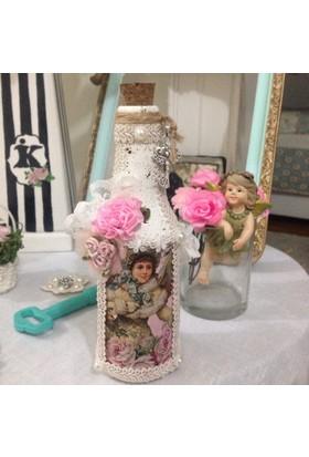 Victorian Rose Boutique Dekoratif Vıctorıan Şişe