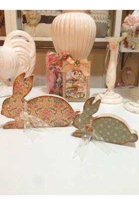 Victorian Rose Boutique Dekoratif Tavşan Obje Tk.