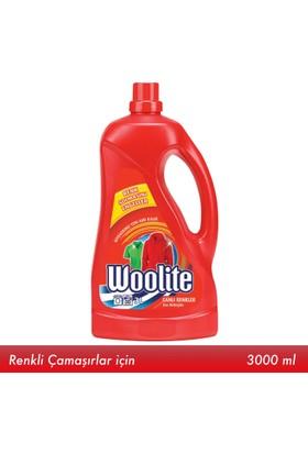Woolite Hassas Çamaşır Deterjanı 3000ml Renkliler için