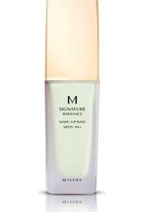 Missha M Radiance Makeup Base SPF15/PA+ (No.1/Green)