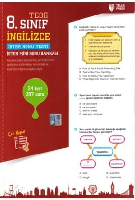 Teas Press Yayınları 8. Sınıf Teog İngilizce Yaprak Test Çek Kopar
