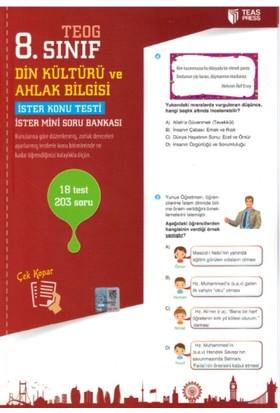 Teas Press Yayınları 8. Sınıf Teog Din Kültürü Ve Ahlak Bilgisi Yaprak Test Çek Kopar