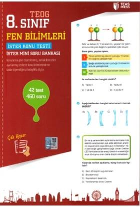 Teas Press Yayınları 8. Sınıf Teog Fen Bilimleri Yaprak Test Çek Kopar