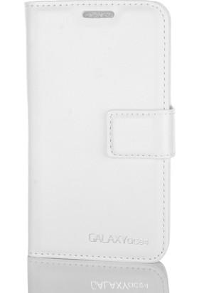 Gpack Samsung Galaxy Ace 4 Kılıf Standlı Serenity Cüzdan