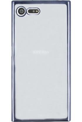 KılıfShop Sony Xperia X Compact Lazer Silikon Kılıf