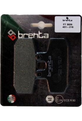 Brenta Aprilia SCARABEO 500 Brenta Ön Disk Fren Balata