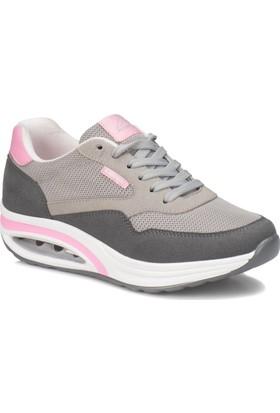 Kinetix Aneta Koyu Gri Pembe Kadın Sneaker Ayakkabı