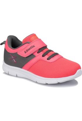 Kinetix Anka Neon Pembe Gri Kız Çocuk Yürüyüş Ayakkabısı