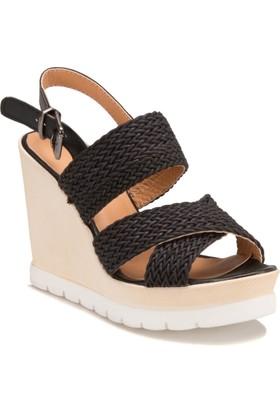 Miss F Ds17079 Siyah Kadın Ayakkabı 411