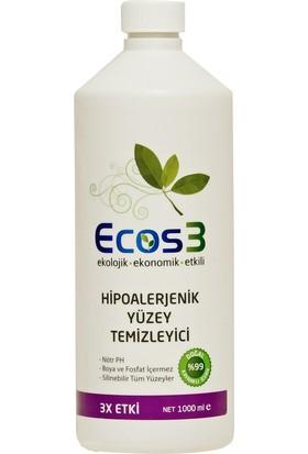 Ecos3 Hipoalerjenik Yüzey Temizleyici 1000 ml.