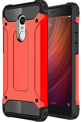 Microsonic Xiaomi Redmi Note 4 Kılıf Rugged Armor