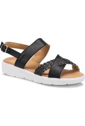 Polaris 71.157379.Z Siyah Kadın Sandalet