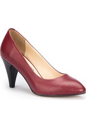 Polaris 71.309022.Z Bordo Kadın Ayakkabı