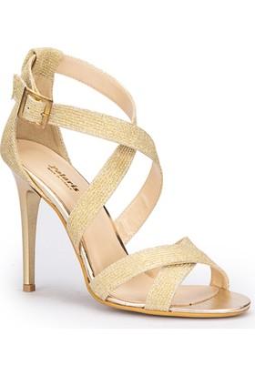 Polaris 71.309836Tz Altın Kadın Ayakkabı