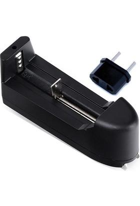 18650 Elektronik Sigara Pil Şarj Cihazı 220 Volt