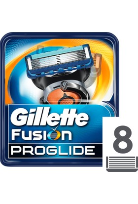 Gillette Fusion ProGlide Yedek Tıraş Bıçağı 8'li Karton Paket