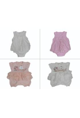 Veo Baby Dantelli Tulum Bady 0 - 3 - 6 - 9 - Ay