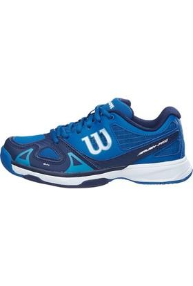 Wilson Çocuk Tenis Ayakkabısı Rush Pro JR Derin Su/ Lacivert/ Tüplü Mavi ( WRS320730E055 )