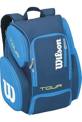 Wilson Tenis Çantası Tour V Backpack Large L.Mavi ( WRZ844696 )