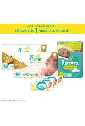 Prima Premium Care Yenidoğan Bebek Bezi Paketi (2 Bebek Bezi + Alt Değiştirme Örtüsü + 3 Islak Havlu)