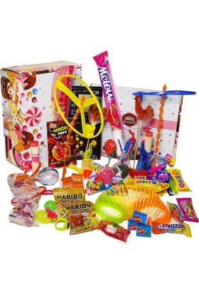 Chavin Nostalji Şeker, Çikolata ve Oyuncak Paketi yap33