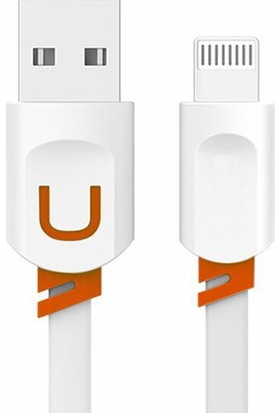 Fineblue Apple Lightning Yassı Hızlı Şarj Ve Usb Data Kablo Fc6
