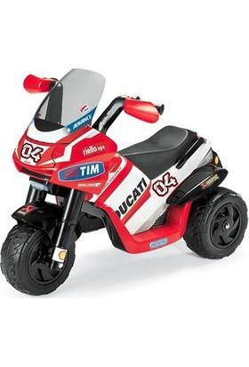 Peg Perego Ducati Desmosedici Akülü Motorsiklet
