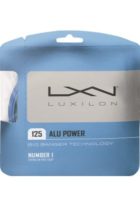 Wilson Luxilon Kordaj Alu Power 125 String İce Blue ( WRZ995100BL )