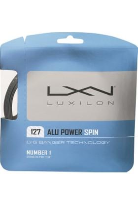 Wilson Luxilon Kordaj Alu Power Spin 127 String Silver ( WRZ998400 )