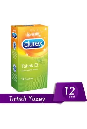 Durex Tahrik Et(Tırtıklı) 12li Prezervatif