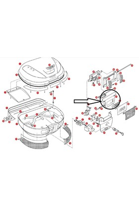 Gıvı Z613n Çanta Kilit Mekanizma Kapak E52