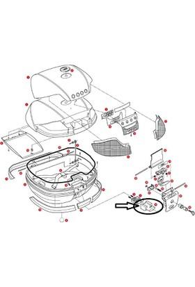 Gıvı Z645cr Çanta Tabla Düğmesi V46-Trk52-B47-B37-E470-E370-E340-Trk33