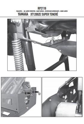 Gıvı Rp2119 Yamaha Xt 1200ze - Xt 1200z Super Tenere (10-16) Karter Koruma