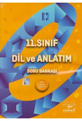 Endemik Yayınları 11. Sınıf Dil Ve Anlatım Soru Bankası