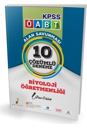 Pelikan Yayınları Kpss Öabt Biyoloji Öğretmenliği Alan Savunması 10 Çözümlü Deneme