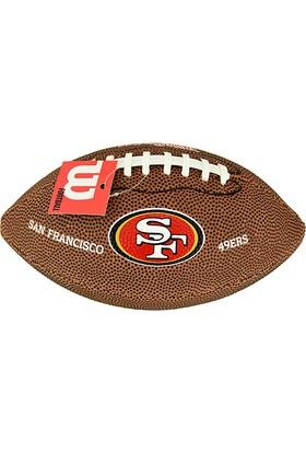 Wilson Amerikan Futbol Topu NFL Mini Team Logo FB SF ( WTF1533XBSF )