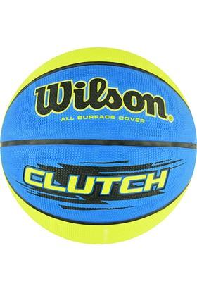 Wilson Basketbol Topu Clutch 295 Size:7 ( WTB1432XB)