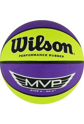 Wilson WTB9067XB06 MVP Kauçuk 6 No Basketbol Topu