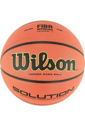 Wilson B0616x Solution FIBA Onaylı Deri 7 No Basketbol Maç Topu