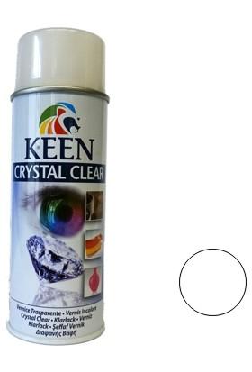 Keen Crystal Clear Parlak Şeffaf Vernik 400 Ml