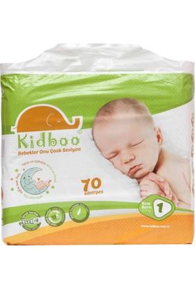 Kidboo Bebek Bezi 1 Beden - 2-5 Kg - 70 Adet