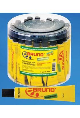 Bruno Solventsiz Kırtasiye Tipi Yapıştırıcı 40 Gram (Slime Yapımında Kullanılabilir) 10 x 10