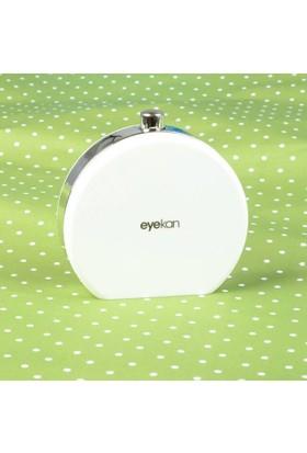 Eyekan Parfüm Şişesi Şeklinde Lens Kutusu (Beyaz)