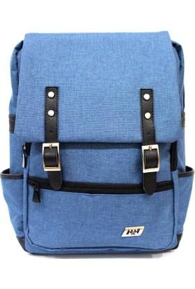 "M&W Work & Sport SRT-S3 15.6"" Kot Mavi Notebook Sırt Çantası"