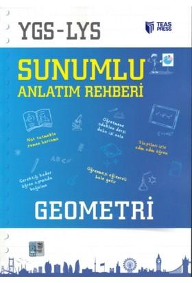 Teas Press-Sınav Yayınları Ygs - Lys Sunumlu Anlatım Rehberi Geometri