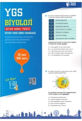 Teas Press-Sınav Yayınları Ygs Biyoloji Yaprak Test Çek Kopar