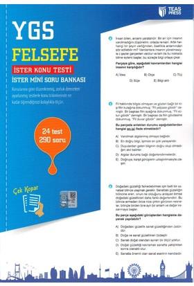 Teas Press-Sınav Yayınları Ygs Felsefe Yaprak Test Çek Kopar